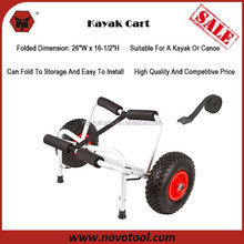 Wholesale High Quality Canoe Carrier Kayak Boat Rack Large Wheels Cart Dolly Trailer Lightweight