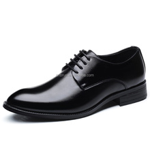 2018 good quality PU leather wholesale men dress shoes