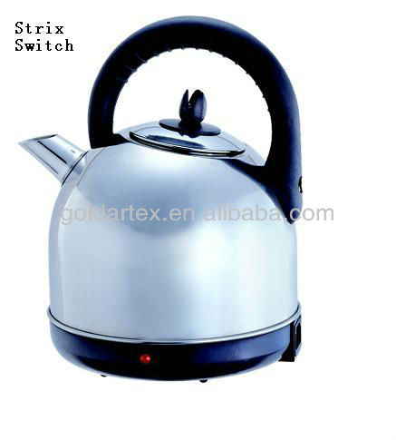 3L Stainless Steel Electrc Water Kettle with Strix Control