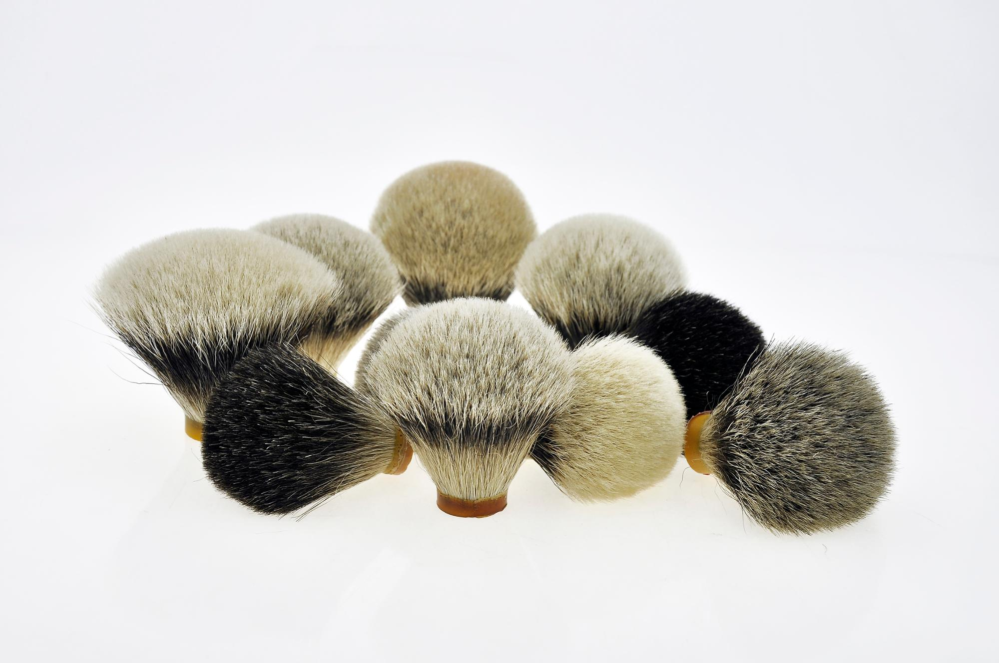 Hand made high quality Badger hair knots size Customized Shaving brush knots