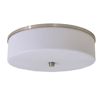 Best western ceiling lamp with Round Acrylic Frosted White Shade and GU24socket