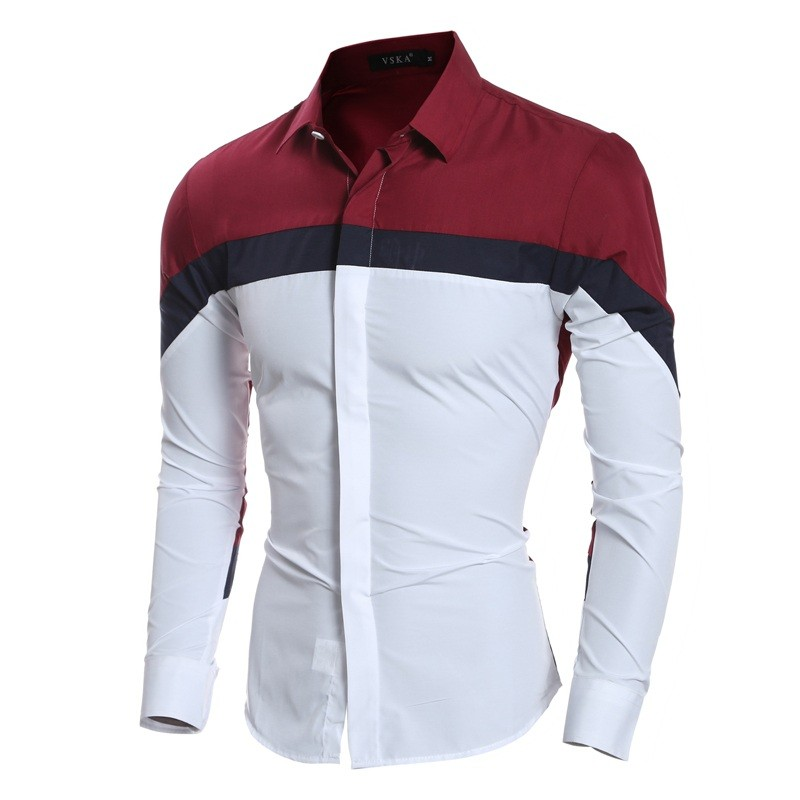 94ca7327 2019 Wholesale Men Shirt Long Sleeve 2016 Brand Shirts Men Casual ...