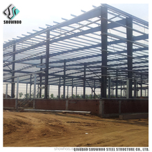steel structure atelier or poultry farm house pre fabricated buildings