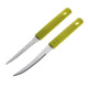 F0128 8.8 Inch Plastic Handle Steak Knife Knives With Serration