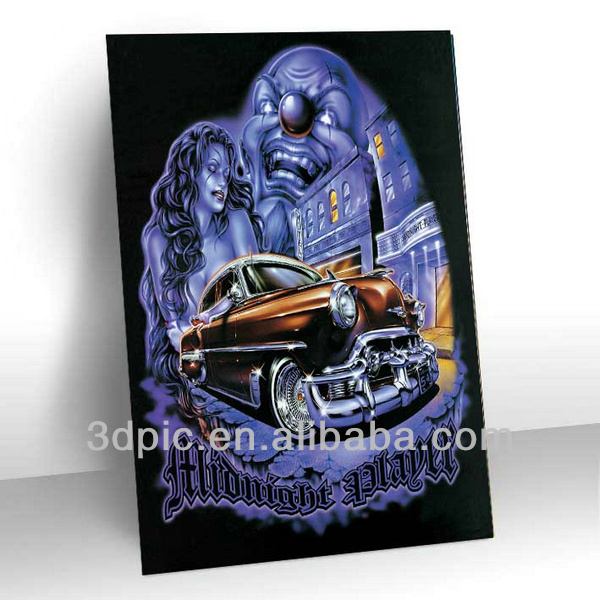 Hot selling 3d deep effect gothic picture