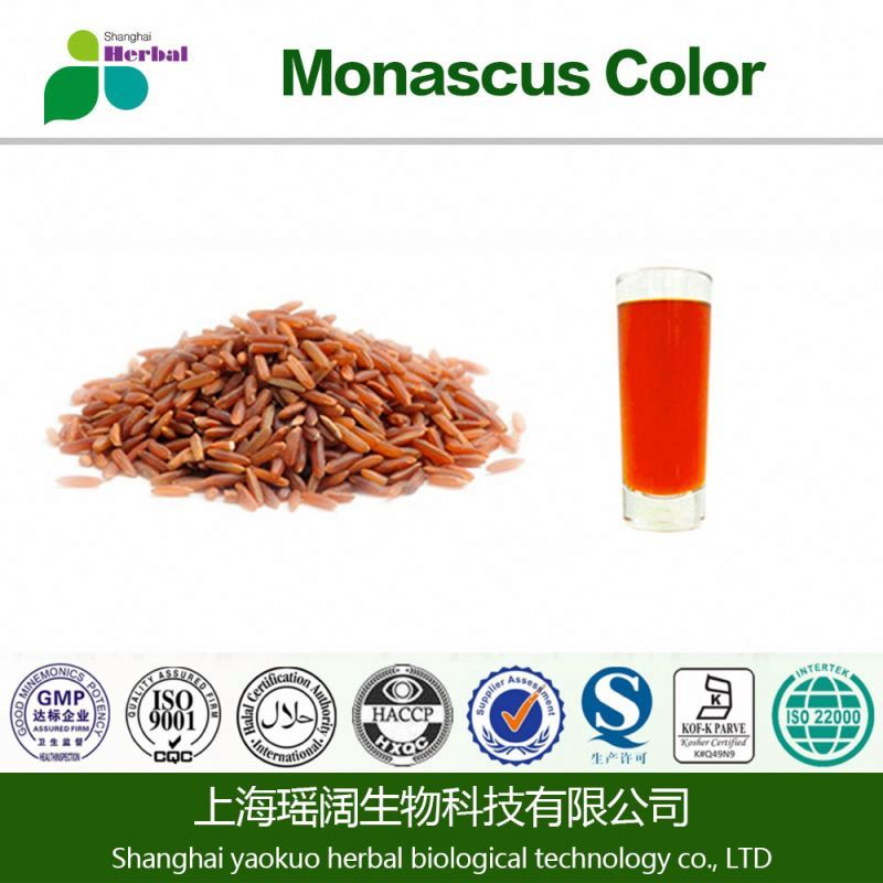 Organic red yeast rice extract / red yeast rice extract Monacolin k powder