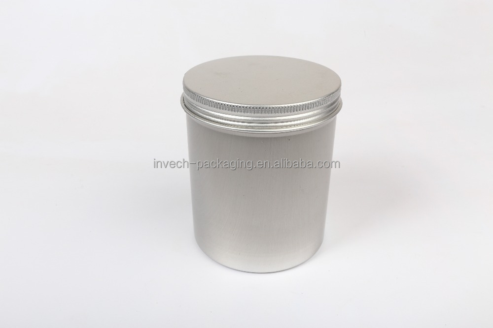 83*100mm large wax tin can,fancy canning container,500ml cosmetic aluminum tin