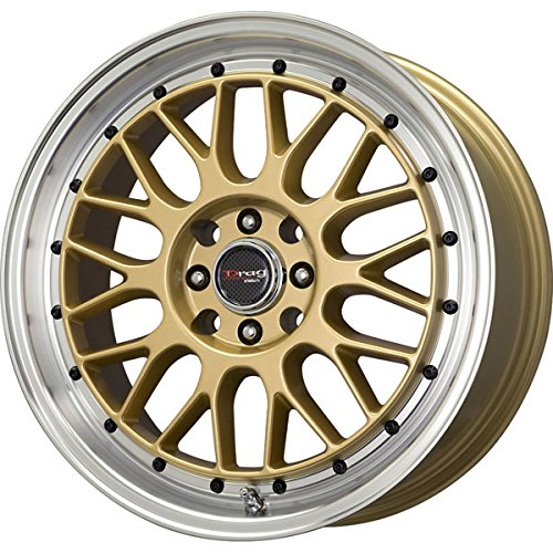Drag Wheels DR-44 15x7/ 4x100/ 4x114.3 Gold rims