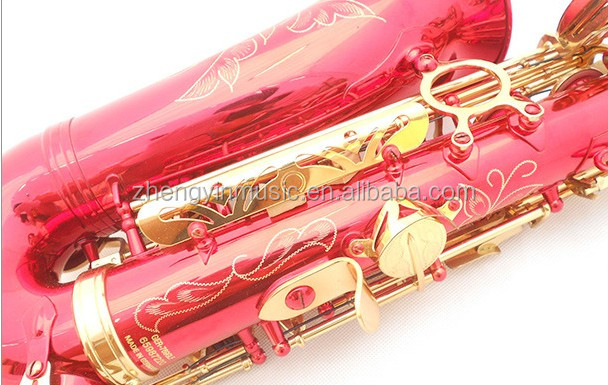 Hot sellingcolored saxofoon