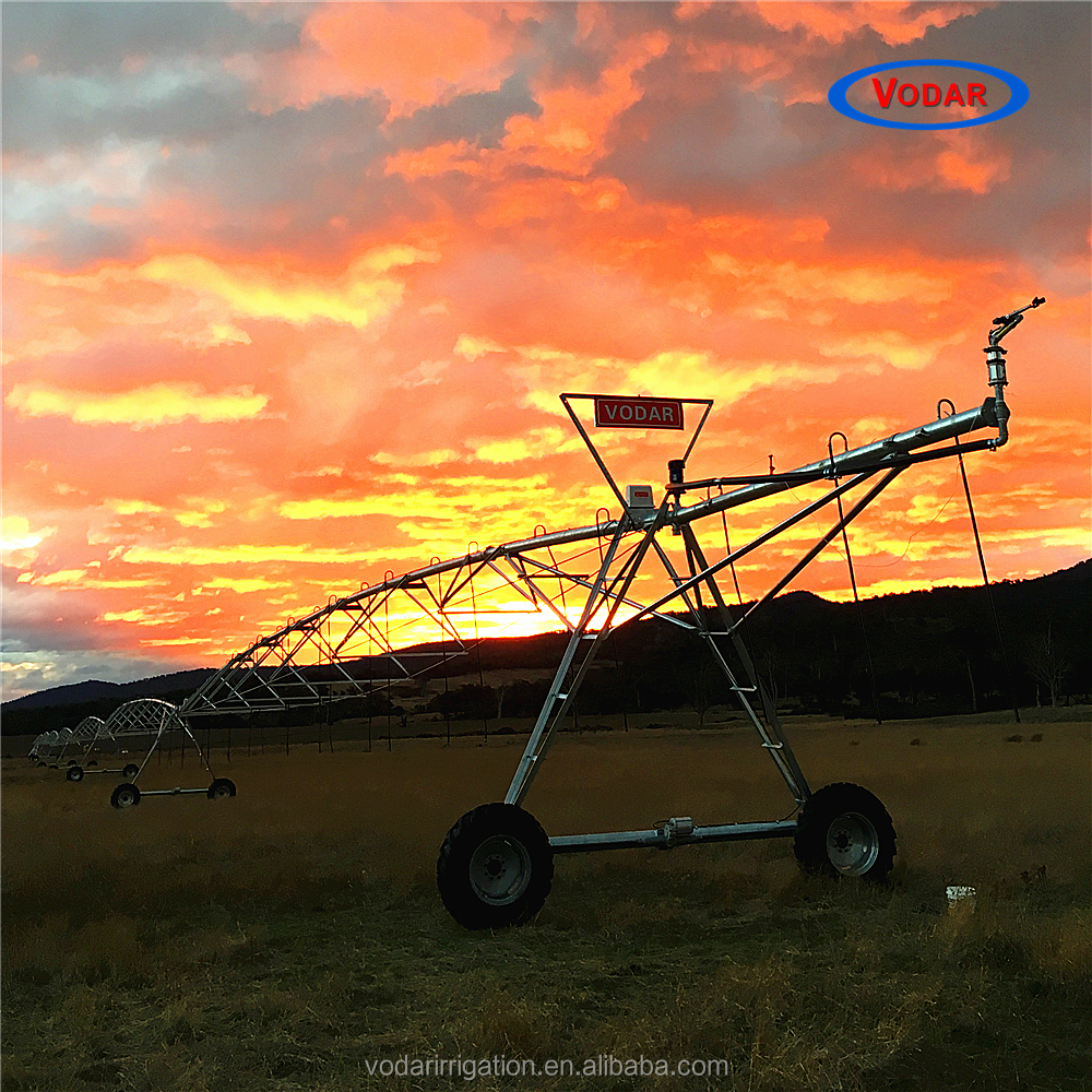 VODAR Central Pivot Farm Irrigation Machine Used In Large Field