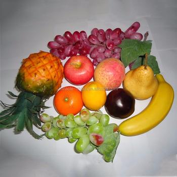 2016 venta al por mayor artificial frutas y verduras - Frutas artificiales para decoracion ...