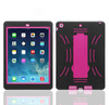 Lower MOQ hot kickstand rugged case for ipad air,for ipad air kickstand case