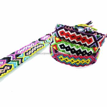 capture site réputé qualité parfaite Wholesale Cord Braided Adjustable Mix-colour Hand Woven Thin Cotton  Friendship Bracelets For Women Men - Buy Cotton Friendship  Bracelets,Friendship ...