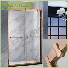 Foshan high quality Hotel Bathroom frameless tempered glass russian luxury rectangular shower room