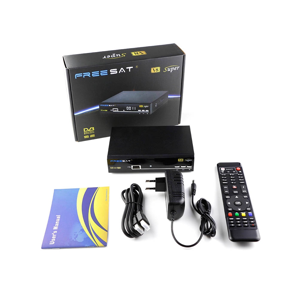2017 new product mini <strong>satellite</strong> receiver <strong>hd</strong> freesat v8 super spanish <strong>tv</strong> box biss key cccam