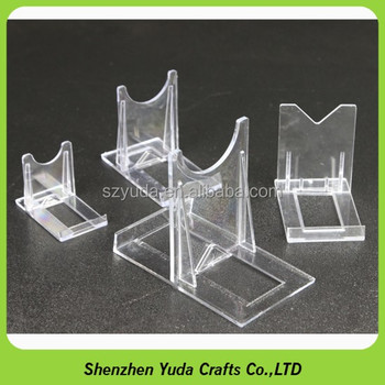 Acrylic Adjustable Coin Display Stand Clear Dish Stand Easel Best Adjustable Acrylic Display Stands