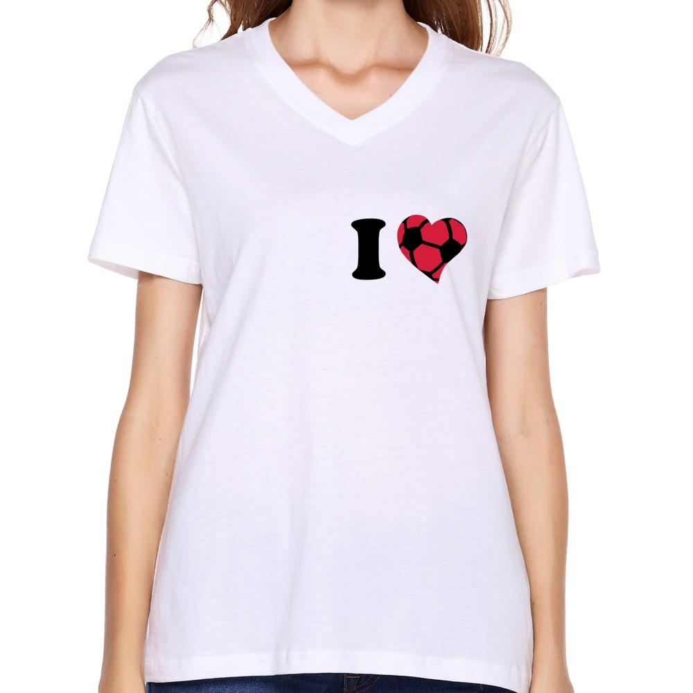 Design t shirt soccer - Get Quotations Custom 100 Cotton T Shirt Womens I Love Soccer Vintage Icons Women S Tee Shirts 2014
