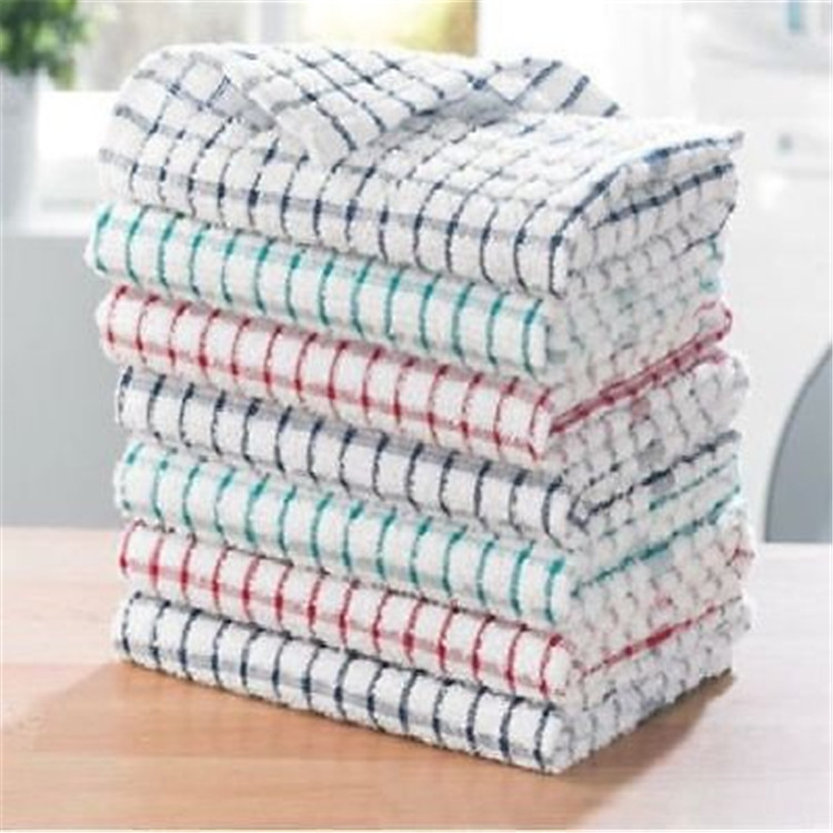 china factory Custom high quality thick 100% organic cotton kitchen tea dish towels