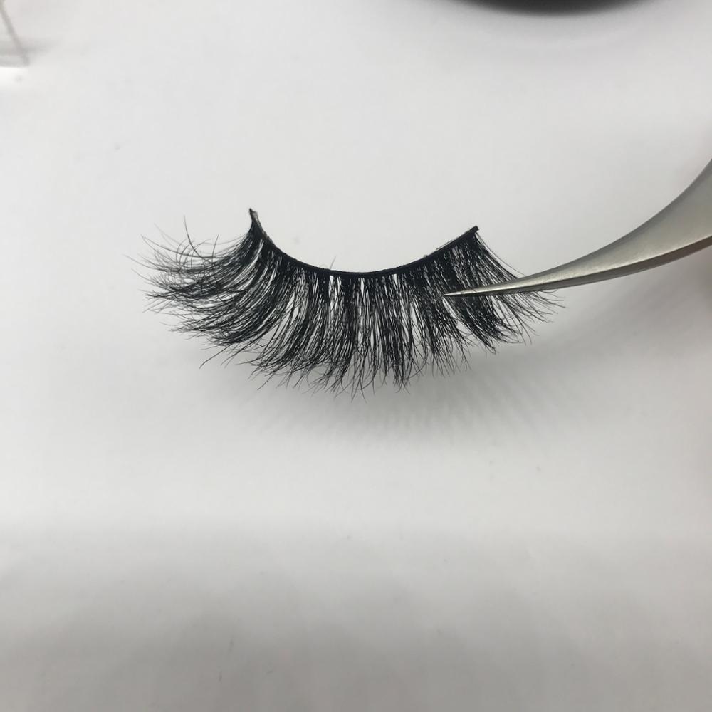 3D mink eyelashes Private Label premium mink lashes and custom eyelash package, Natural black