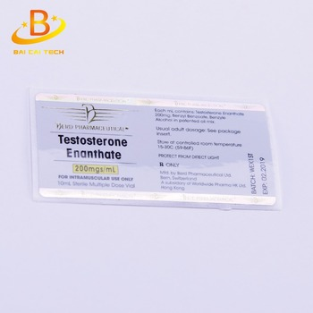 China supplier holographic pharmaceutical roll 10ml bottle labels