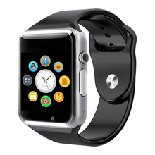 Bluetooth smartwatch inalámbrico impermeable A1 android WFI smartwatch para <span class=keywords><strong>iphone</strong></span> precio <span class=keywords><strong>inteligente</strong></span> <span class=keywords><strong>reloj</strong></span> Digital con cámara tarjeta SIM