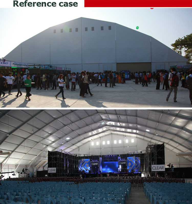 Large Clear Span Outdoor Concert Marquee Tent For Sale