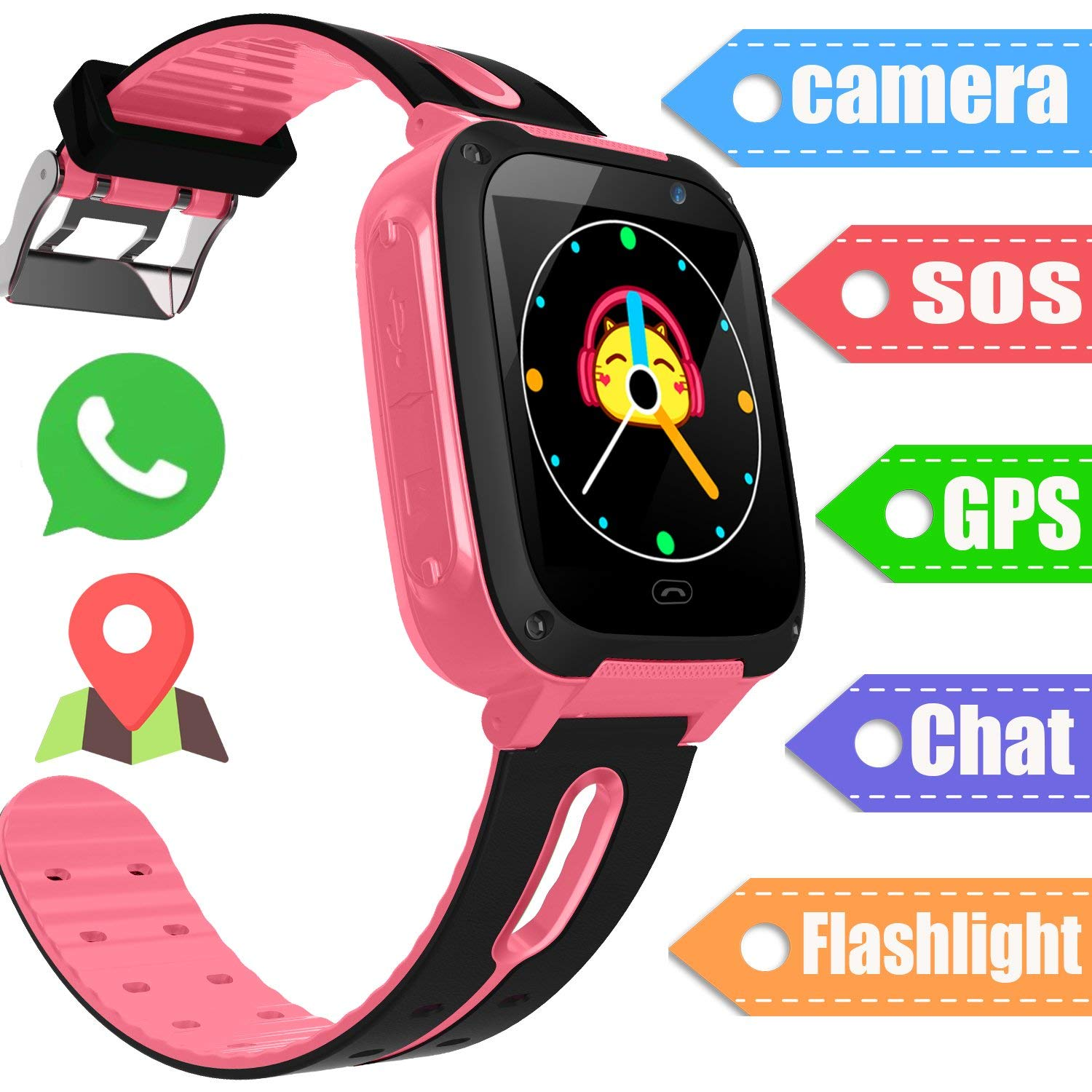 Buy Kids Phone Smart Watch For 3-12 Year Old Boys Girls