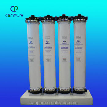 CPO-1060 PVDF UF hollow fiber membrane water treatment equipment