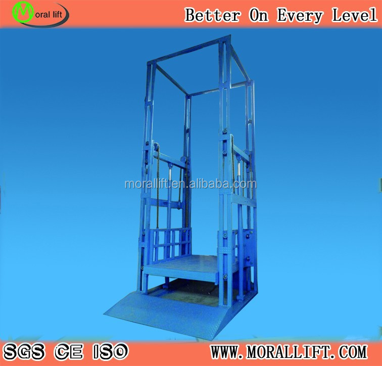 electric chain goods ladder lift