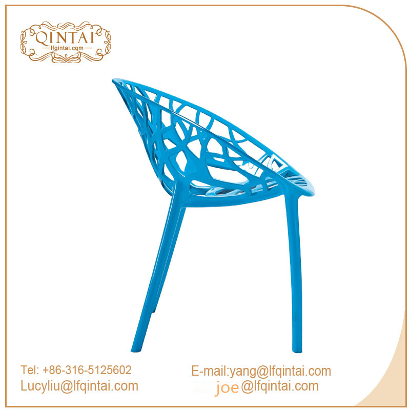 hot sale PP stackable hollow tree chair plastic chair