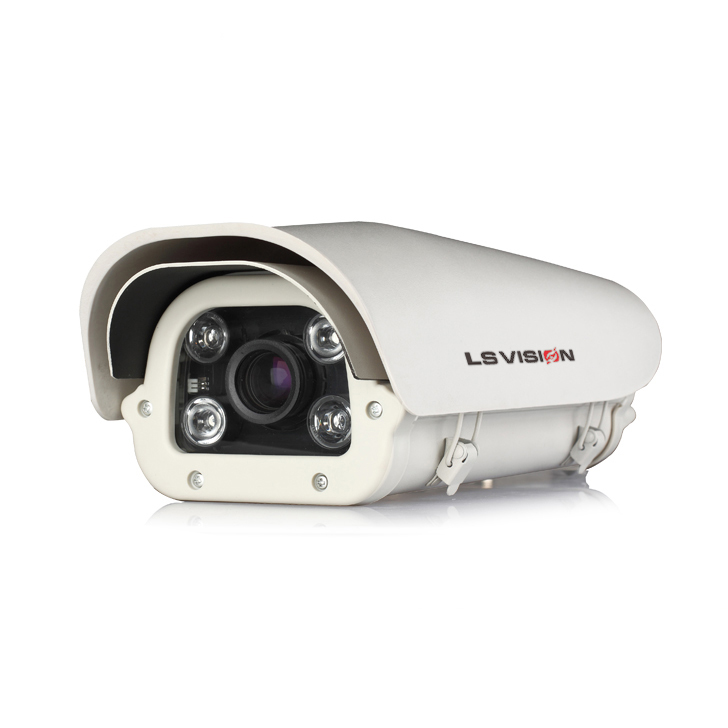 LS VISION AHD Camera 1.3MP ALPR Police System Technology