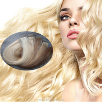 wholesale hand made 100% remy human hair seamless waterproof tape hair extensions