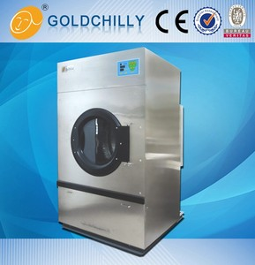 Used industrial electric gas steam dryer with good quality