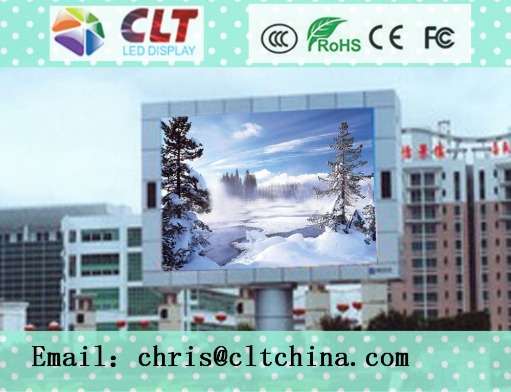 2016 CLT hot sale stadium perimeter led display/full color P10 outdoor led screen