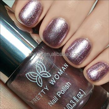 Rose Pink Mirror Nail Polish High-shine Metallic Nail Polish Private ...