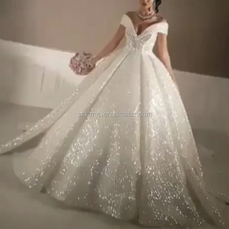Bling Wedding Dresses Ball Gown Whole Dress Suppliers Alibaba