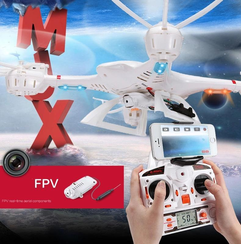 MJX X400 2.4G 4CH 6-Axis FPV R/C Quadcopter R/C Drone With/without  C4005 FPV