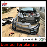 For hyundai elantra 2011+ car big body kit front bumper
