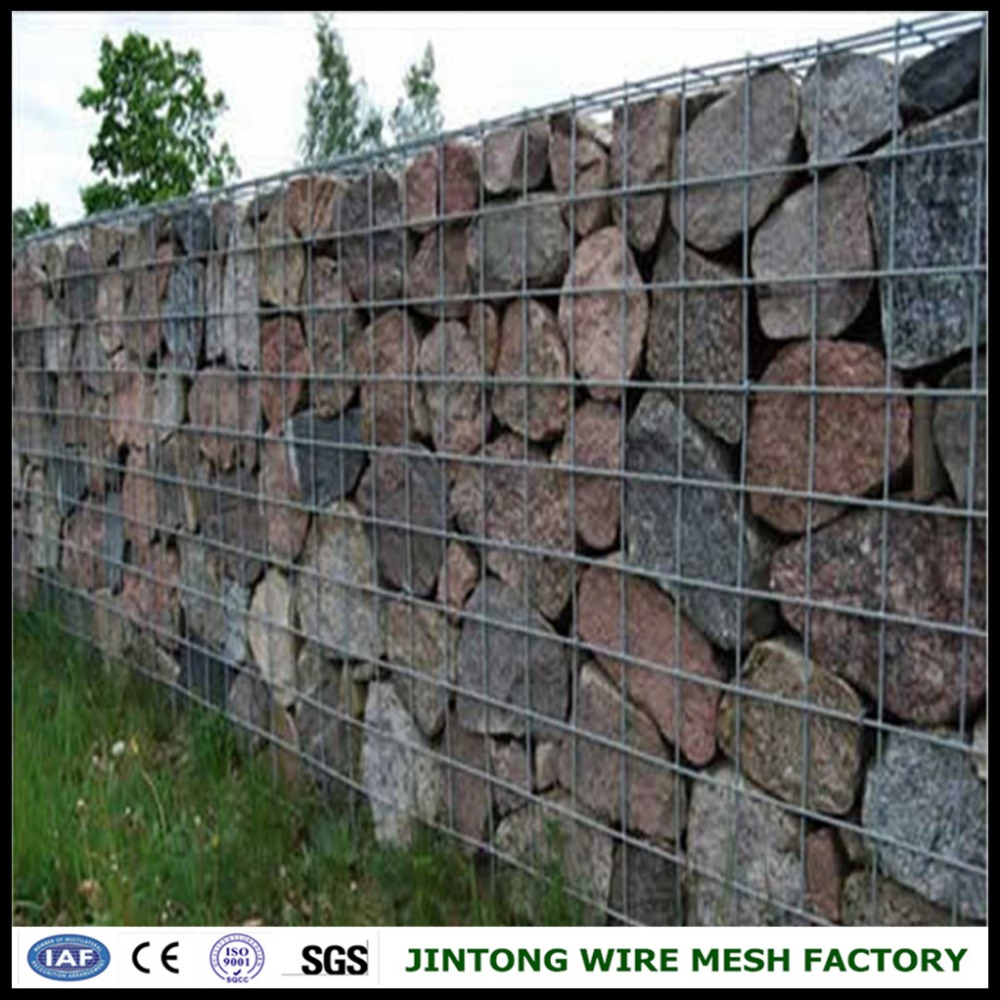 Stone Filled Welded Wire Mesh Fence Panel - Buy Welded Wire Mesh ...