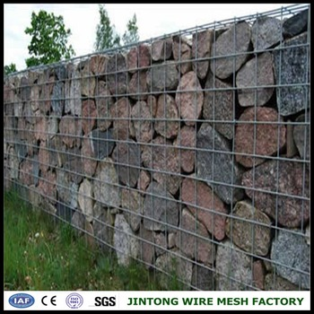 Stone Filled Welded Wire Mesh Fence Panel Buy Welded