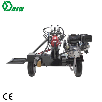 Forestry machinery CE approved horizontal wood log splitter