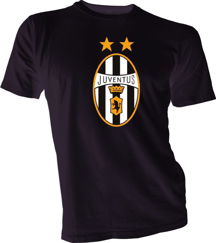 80ebf73ea Get Quotations · JUVENTUS FC Italy Italia Serie A Football Soccer Futbol  Black T-SHIRT NEW