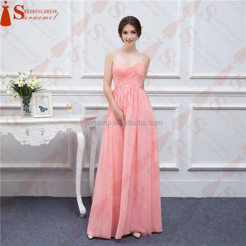 Catálogo de fabricantes de Vestidos De Dama De Honor Color Coral de ...