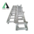 2 step aluminum ladder with handrail