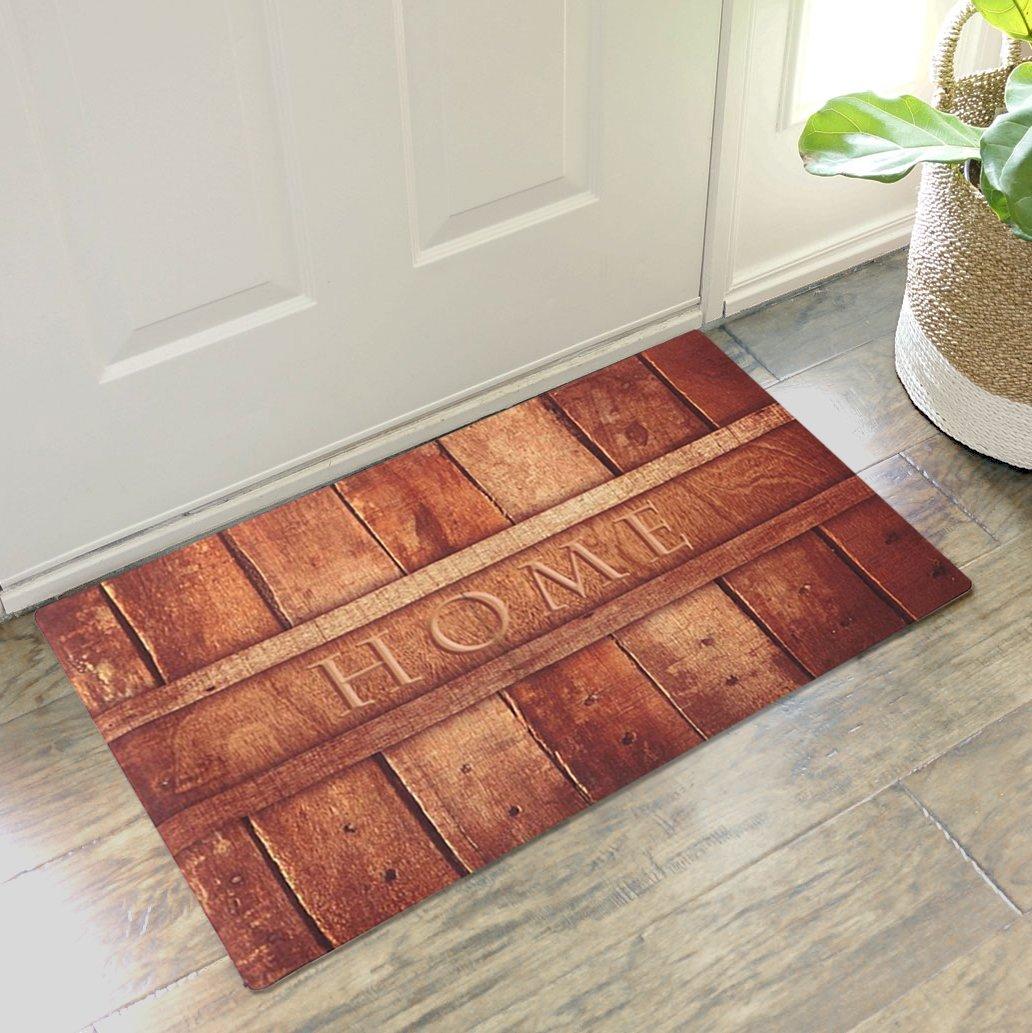 indoor rug mats floor rubber itm latex door mud mat barrier dirt non doors doormat slip trapper