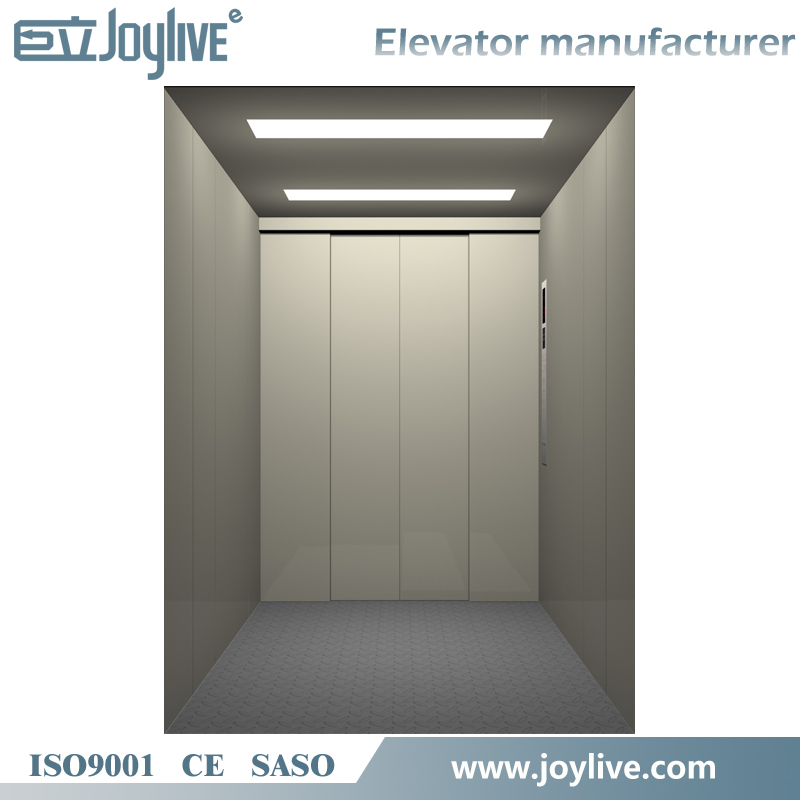 VVVF Drive 2500kg warehouse freight elevator
