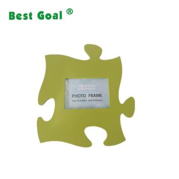 Wall Hanging Wood Puzzle Piece Photo Picture Frame Buy Puzzle