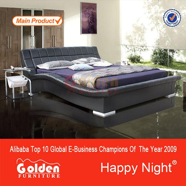 El último diseño de muebles de cama con cabecera iluminada( 2876b ...