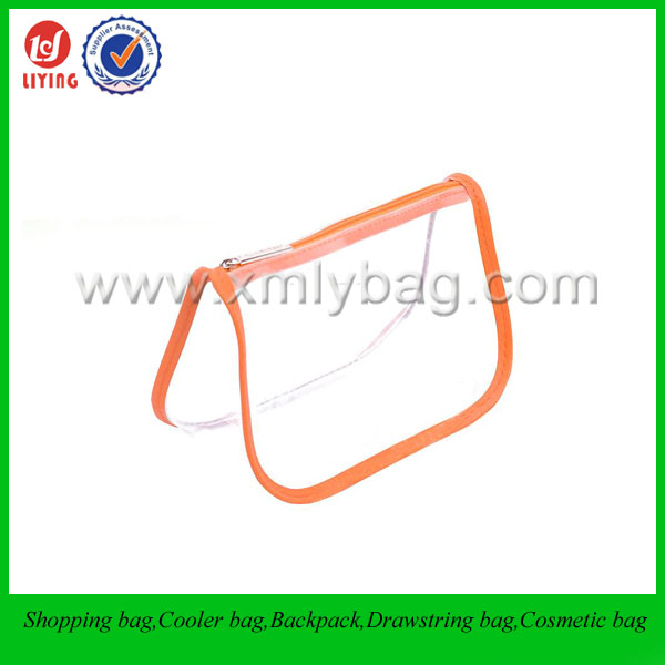 Companies Manufacture Clear PVC Cosmetic Bag Packaging