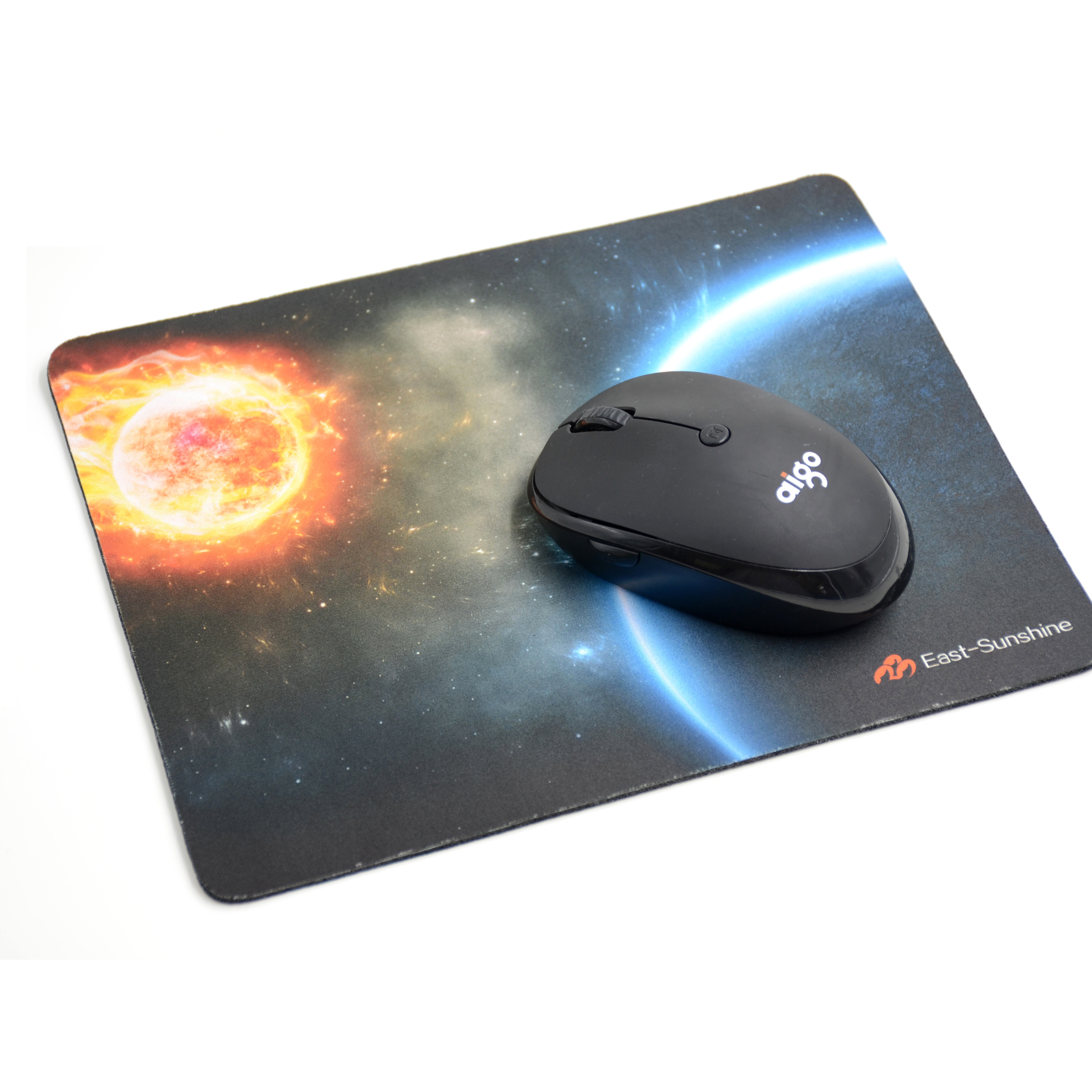 New style microfiber anime logo printed mouse pad